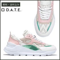 【D.A.T.E】 SNEAKERS FUGA POP PERFORATED レザー スニーカー
