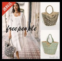 【送料込】free people★Eva Printed Juteトート