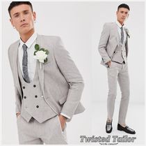 Twisted Tailor super skinny linen suit