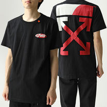 OFF-WHITE OMAA027S19185006 SPLIT LOGO S/S 半袖 Tシャツ