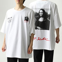 OFF-WHITE OMAA066S19185005 MONNALISA SUPER MEGA OVER Tシャツ