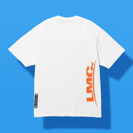 LMC FRONT OVER PRINTED TEE white #T-SHIRT