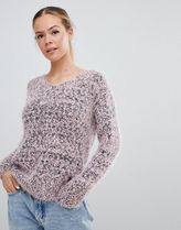 E.L.K relaxed jumper in flecked knit