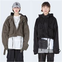 大人気!【Raucohouse】 CROPPED ARMY JACKET/男女兼用/2色