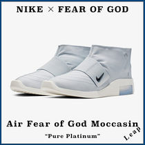 "【Nike×FOG】激レア Air Fear of God Moccasin ""Pure Platinum"""