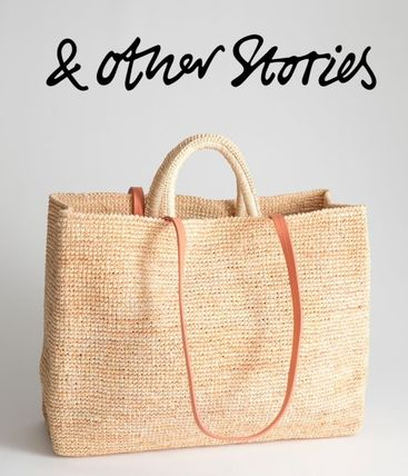 Large Woven Straw Tote