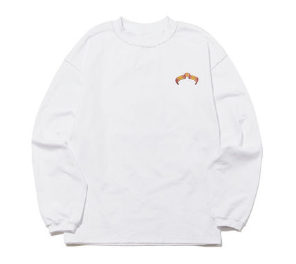 ORDINARY PEOPLE Tシャツ・カットソー ORDINARY PEOPLE☆ テヨン着用 cupid donald duck white t-shirt(9)