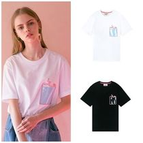 STEREO VINYLS COLLECTION(ステレオビニールズコレクション) Tシャツ・カットソー STEREO VINYLSの[SS19 Pink Panther] PP Clear Pocket T-Shirts