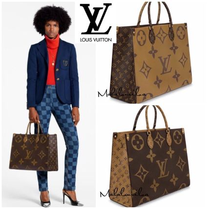 ◆限定1点◆VIP先行予約品 LOUIS VUITTON ONTHEGO TOTE BROWN