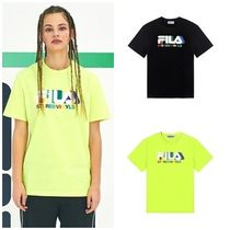 STEREO VINYLSの[SS19 STEREO X FILA] Color of Sound S/S Tee