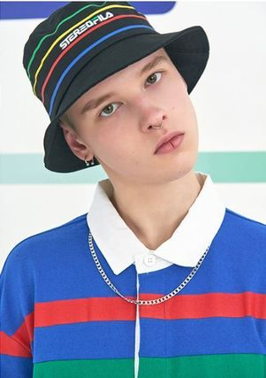 STEREO VINYLS COLLECTION ポロシャツ STEREO VINYLSの[SS19 STEREO X FILA] Color block Rugby Shirts(3)