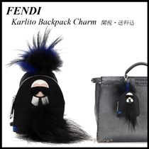 【FENDI】Karlito Backpack Charm 関税/送料込