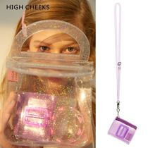 HIGH CHEEKS(ハイチークス) バッグ・カバンその他 HIGH CHEEKS★Lady Embelished Lipstick Bag