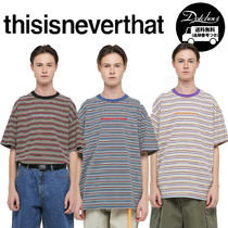 thisisneverthat  CHEROKEE STRIPED TEE AK88/追跡付