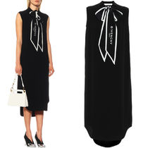 19SS G474 ASCOT TIE MIDI DRESS