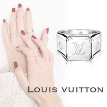 【直営店買付】Louis Vuitton・MONOGRAM RING SIGNET 指輪