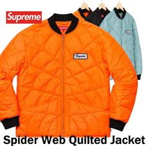 Supreme シュプリーム Spider Web Quilted Work Jacket SS19 WK9