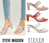 SALE【上品クリア】新作Steven by Steve Madden Joieyサンダル