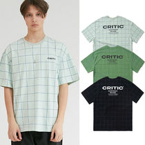 ★CRITIC★ロゴ Tシャツ BACKSIDE LOGO GRID T-SHIRT【全3色】