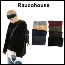 ☆RAUCOHOUSE☆ ヘアバンド WIDE CORRUGATE HAIR BAND 8色