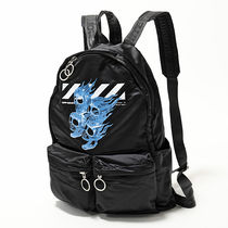 OFF-WHITE OMNB003S19D10017 1088 SKULLS BACKPACK バックパック