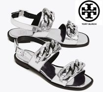 [関税・送料込]TORY BURCH☆ADRIEN METALLIC SANDAL