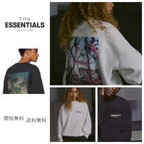 国内即発 [FOG] Fear Of God Essentials Crew Neck Sweat