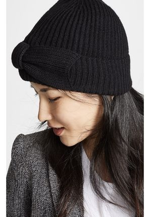 fb4e5f04d3f ... kate spade new york ニットキャップ・ビーニー Kate Spade New York Solid Bow Beanie  Hat ...
