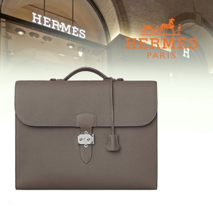 Hermes【直営店】Sac a depeches light 1-37 briefcase