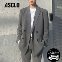ASCLO Loosefit Suit (Gray) MH219 / 追跡付