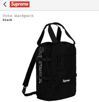 Supreme SS19 Week9 / Tote Backpack / Black