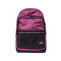 Stussy Diamond Ripstop Backpack (Berry) 新作バックパック
