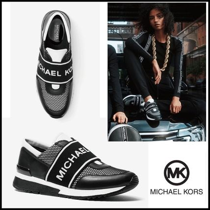 ★MICHAEL KORS★MK Mesh and Leatherスニーカー