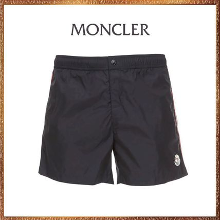 MONCLER ロゴ ナイロン水着