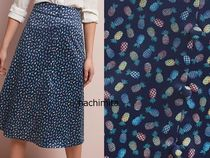 セール! Hutch Pineapple-Printed Midi Skirt