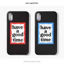 【have a good time】Frame Iphone Case X/XS (関税送料込)