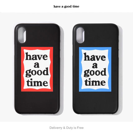 have a good time スマホケース・テックアクセサリー 【have a good time】Frame Iphone Case X/XS (関税送料込)