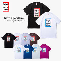 【have a good time】Frame S/S ロゴ Tシャツ (関税送料込)