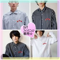 NOT N NOT(ナッエンナッ) シャツ NOT ROSE OVER ST SHIRTS - WIDE WHITE ST