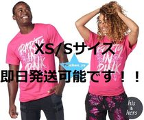 XS/S即納☆ユニセックス【ZUMBA】Party In Pink Unisex Tee