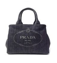 大人気+国内発送!!!PRADA CANAPA bucket type tote 2way 二色