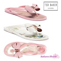 【SALE】TED BAKER*Suszie Thong リボンビーチサンダル
