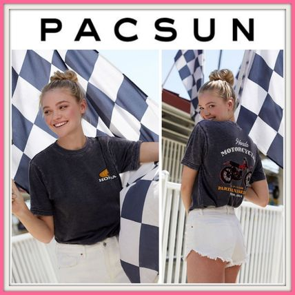 PacSun Tシャツ・カットソー 最新作!! ★PacSun★ Honda Service Center T-Shirt