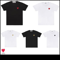PLAY COMME des GARCONS 半袖 Tシャツ ハート ロゴ レディース