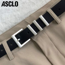 ASCLO エジュクロ 30 SL Leather Belt