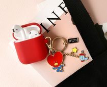 ★NEW★AirPodsケース付きLINE FRIENDS メタルBT21キーリング★