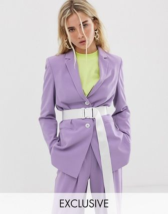 ASOS COLLUSION oversized blazer with belt