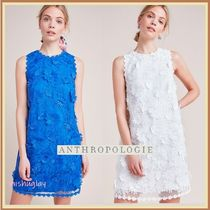 【ANTHROPOLOGIE】上品なレースのお花★Daisy Lace Shift Dress