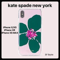 国内発送★Kate Spade 花 jeweled grand flora X/XS, XR, XS MAX