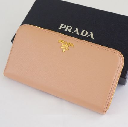 国内発送★PRADA★VITELLO GRAIN 長財布 1ML506 希少なCIPRIA♪